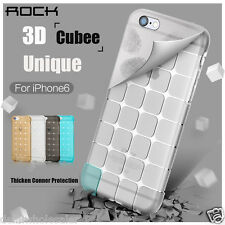 Original Rock Cubee Series Shockproof TPU Back Case Cover for Apple iPhone 6 6s