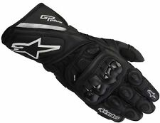 ALPINESTARS GP PLUS Black Motorbike Leather Racing Gloves S M L XL 2XL