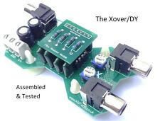 The Xover/DY 1 channel 12dB/Octave active crossover filter VARIOUS OPTIONS