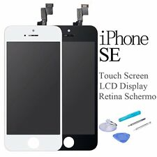 Per iPhone SE Touch Screen + LCD Display Retina +Frame Vetro Schermo Nero Bianco