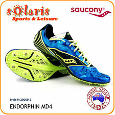 Saucony Endorphin MD4 Men's Middle Distance Running Spike 29009-2 Track Spikes