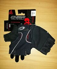 CHIBA C4 TRACK MITTS - CYCLING MITTS GLOVES - BLACK - M - L - XL