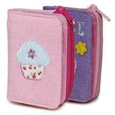 New Cute Ladies Girls Purple Purse Wallet Cupcake Design Girls Party Gifts