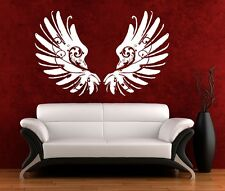 Wall Art sticker decal vinyl 0097 Scroll Wings, Angel, Gothic