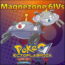 Magnezone 6IV ⭐️ Shiny or not ⭐️ Battle Ready 6IVs Pokemon XY ORAS SM Sun Moon