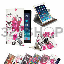 360 Degree Brand New PU Leather Flip Stand Case Cover for Apple iPad Mini 2