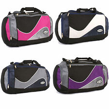 New Ladies Mens Shoulder Holdall Hand Luggage Weekend Travel Bags Gym Sports 22