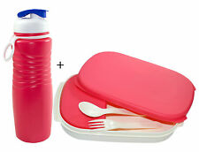 OLIVEWARE KOMPACT LUNCH BOX WITH SIPPER