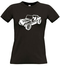 Women's VW Buggy (1) T Shirt Short Sleeved Crew Neck Personalised B&C Exact 190