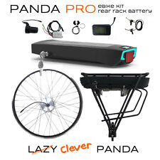 Panda Pro: Front Wheel, 36V 250W, 10Ah Rear Rack Battery Electric Bicycle eBi...