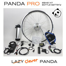 Panda Pro Bottle: Front Wheel, 36V 250W Electric Bike Conversion Kit, LCD, 8A...