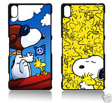 SNOOPY SONY XPERIA Z1 Z2 Z3 Z4 MINI COMPACT COVER CASE CARCASA FUNDA COMIC RETRO