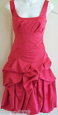 NEW~MONSOON~CARMEL PINK OCCASION DRESS 10 12 LINED, WEDDING/EVENING