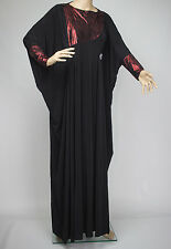 Beautiful Butterfly Abaya /Jilbab, Women Islamic Clothing, Modest Maxi Dress