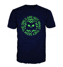 T-Shirt Owls Are Not What They Seem Twin Peaks Inspiriert Gildan
