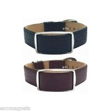 Bioflow Executive Magnetic Bracelet - Leather Magnetic Wristband