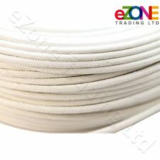 Heat Resistant High Temperature Glass Fibre Wire cable 500C White Oven Fryer