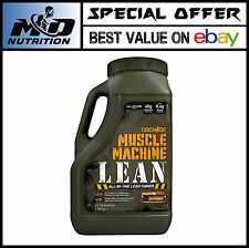 """Muscle Machine Lean Gainer 1.84kg """"Strawberry Cream Only"""""""