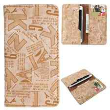 Available For All iPhone Models -Dooda PU Leather Wallet Case Cover Pouch ABC-BE