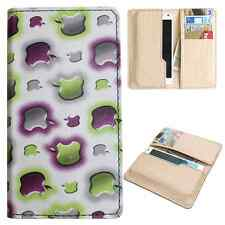 Available For All iPhone Models -Dooda PU Leather Wallet Case Cover Pouch Apl-GR