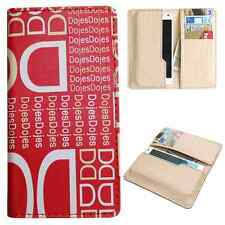 Available For All iPhone Models-Dooda PU Leather Wallet Case Cover Pouch DD-RE