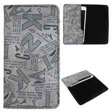 Available For All iPhone Models-Dooda PU Leather Wallet Case Cover Pouch ABC-BL