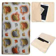 Available For All iPhone Models-Dooda PU Leather Wallet Case Cover Pouch Apl-OR