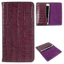 Available For All iPhone Models-Dooda PU Leather Wallet Case Cover Pouch CRO-PU