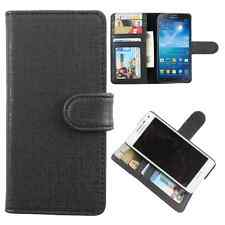 Available For All iPhone Models-Dooda PU Leather Wallet Case Cover ID Slot KH-BL