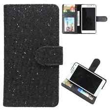 Available For All iPhone Models-Dooda PU Leather Wallet Case Cover ID Slot GT-BL