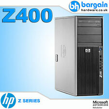 HP Z400 Workstation Customizable Intel Xeon Quad / Hex Core Windows 7 Desktop PC