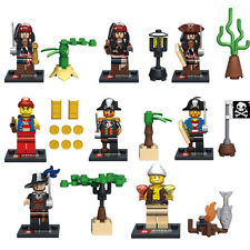 Pirates of the Caribbean Custom Minifigures, Including: Barbossa - Fits Lego