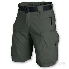 HELIKON UTL SHORTS MENS MILITARY STYLE ARMY CARGO COMBAT RIPSTOP JUNGLE GREEN