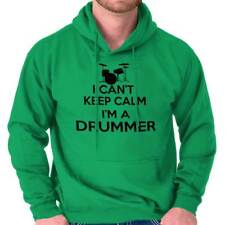 Cant Keep Calm Drummer Funny Shirt Percussion Sarcastic Gift Hoodie