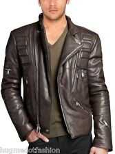 Genuine Leather Black Biker Custom Designer Motorcycle Jacket