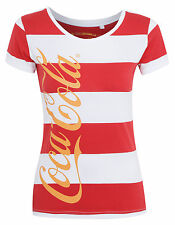 Official Ladies/Woman's Coca Cola T shirt/Top - Free P&P