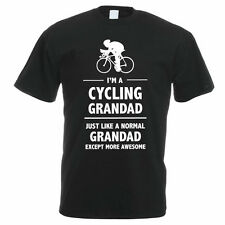 I'M A CYCLING GRANDAD - Grandparent / Father's Day / Sport Themed Mens T-Shirt