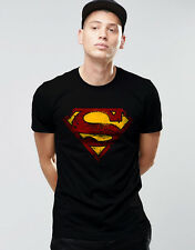 MAN OF STEEL  Superman T-shirt High Quality Premium Printed Round Neck T-Shirt