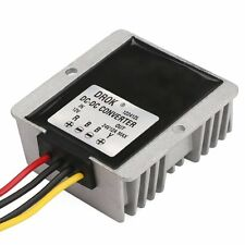 DROK® Waterproof DC-DC Boost Converter 12V to 24V 12A 288W Step-up Volt Regulat