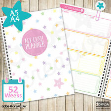 A5/A4 My Lush Planner - Diary / Organiser, weekly planner, organizer, planners