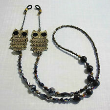 Owl Glasses Eyeglass Sunglass Spectacles Specs Chain Holder Cord Leash Strap