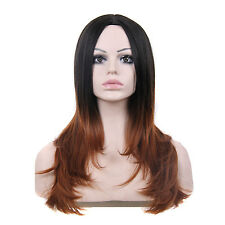 "Fashion Wigs Women 23"" Long Straight Bob Cosplay Natural Party Sexy Full wigs"