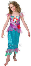 Child Disney Ariel Shimmer Princess Mermaid Girls Fancy Dress Costume 889219