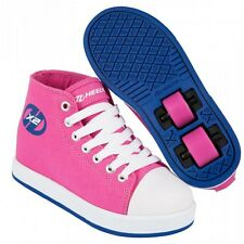 Heelys chaussure à roulette x2 fresh hi top 770738 fuschia navy
