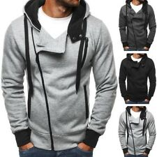 OZONEE 68001 Men's Hooded Pullover Sweatshirt Jumper Sweat Jacket Hoodie New