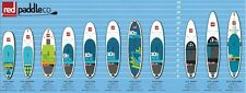 Stand Up Paddle Alzarsi Da Tavola Surf Red Aqua incl. Marina Pinna SUP
