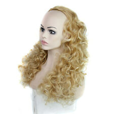 "Fashion Wigs Women 28"" Long Deep Curly Hair Natural Party Sexy Half Wigs"