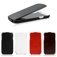 New luxury FLIP GENUINE Leather CASE Cover For SAMSUNG GALAXY S4 S IV i9500