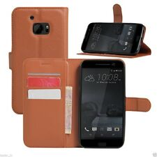 Taslar Wallet Leather Flip Shell Back Cover Case For HTC One M10 / HTC M10