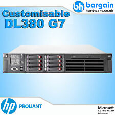HP ProLiant DL380 G7 Twin Quad or Hex CPU Xeon Rack Server Customisable RAM